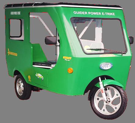 E-Trike-Green0