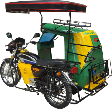 Electric Tricycle Conversion 183 Le Guider International E