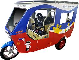 Le Guider International E-Trike Electronics Assembly Phils